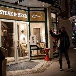 Steak und Meer Foto