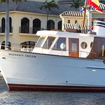 Mizners Dream is a vintage vessel restored for private yacht tours in Boca Raton, FL
