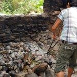 Preparing for a Hot Stone Bath at Farmhouse
