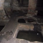 Old tanning pits
