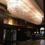Lobby chandelier
