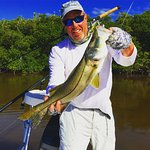 Nice 9lb snook from the 10,000 islands