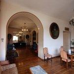 Main floor lounge and bar