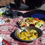 Outdoor Luxury Lunch in Tizi n´Tamatert