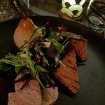 foie gras poire pain d'épice