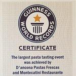 Único Restaurante de la Argentina con un Récord Guinness, lo invitamos a probar las mejores Past