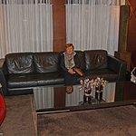 comfortable lobby!