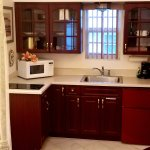 Cute kitchen area in the Barbados suite