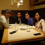 lovely dinner shared with friends :)