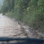The road travelled in, if you rent, get a 4WD