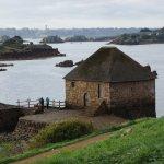 le célèbre moulin à marée de l'île