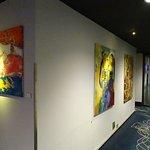 Künstlergalerie auf der 7. Etage