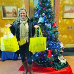 Holiday Fun on Her NYC Shopping Tour From Australia