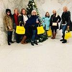 Christmas NYC Shopping Tour Smiles