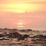 Atardecer en Playa Pelada, maravilloso