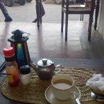 a pot of swahili tea.
