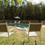 Enjoy a relaxing break poolside.