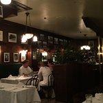Inside John's Grill.