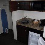 Microwave, Sink, Mini Fridge, etc
