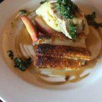 Pork Belly with maple caramelised apples