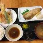 Saba and tempura two choice