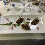 Один из званных ужинов ресторана «Легенда», приправленный Крымским чёрным трюфелем.
