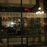 Entrance to Zambi's