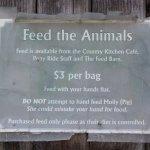 Petting zoo info.