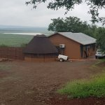 Driveway into the Self Catering Nkwazi Lodge