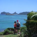 Bush walking on Intermediate Hill, Lord Howe Island