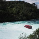 The boat from Huka Fall track