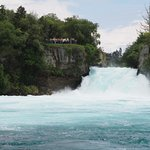 Huka Falls (view from the boat)