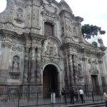 Fachada Iglesia de los Jesuitas, entrada de pago.