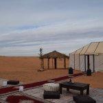 Campamento en el desierto