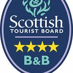 Delighted to have received our 4 star GOLD  award from Visit Scotland.