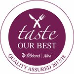 Chuffed to bits to have received our taste our best quality assured award 2017/18