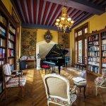 la bibliotheque du chateau