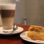 Coffee & fresh baked scones