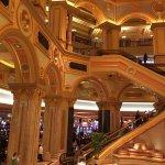 Inside hotel