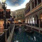 Venetian canal in mall
