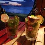 Cocktail mojito passion
