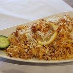 Prawn Biryani (arroz basmati con gambas)