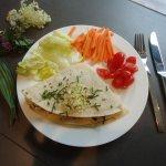 Cucina tra tradizione ed innovazione, con piatti anche vegani e vegetariani