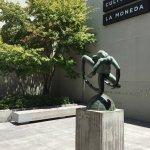 Centro Cultural La Moneda - Jardim de entrada