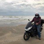 Riding on North Beach