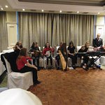 We had trad music at the reception
