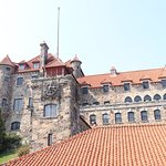 Boldt castle , entrance .. on a beautiful day .. make sure you go on a sunny day !