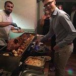 New year's eve hog roast