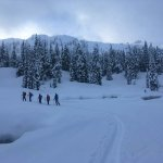 Heading out for a day of backcountry skiing & riding