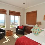 King and Twin suite with view over False Bay and Naval Base